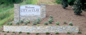 Photo from the City of Clay website