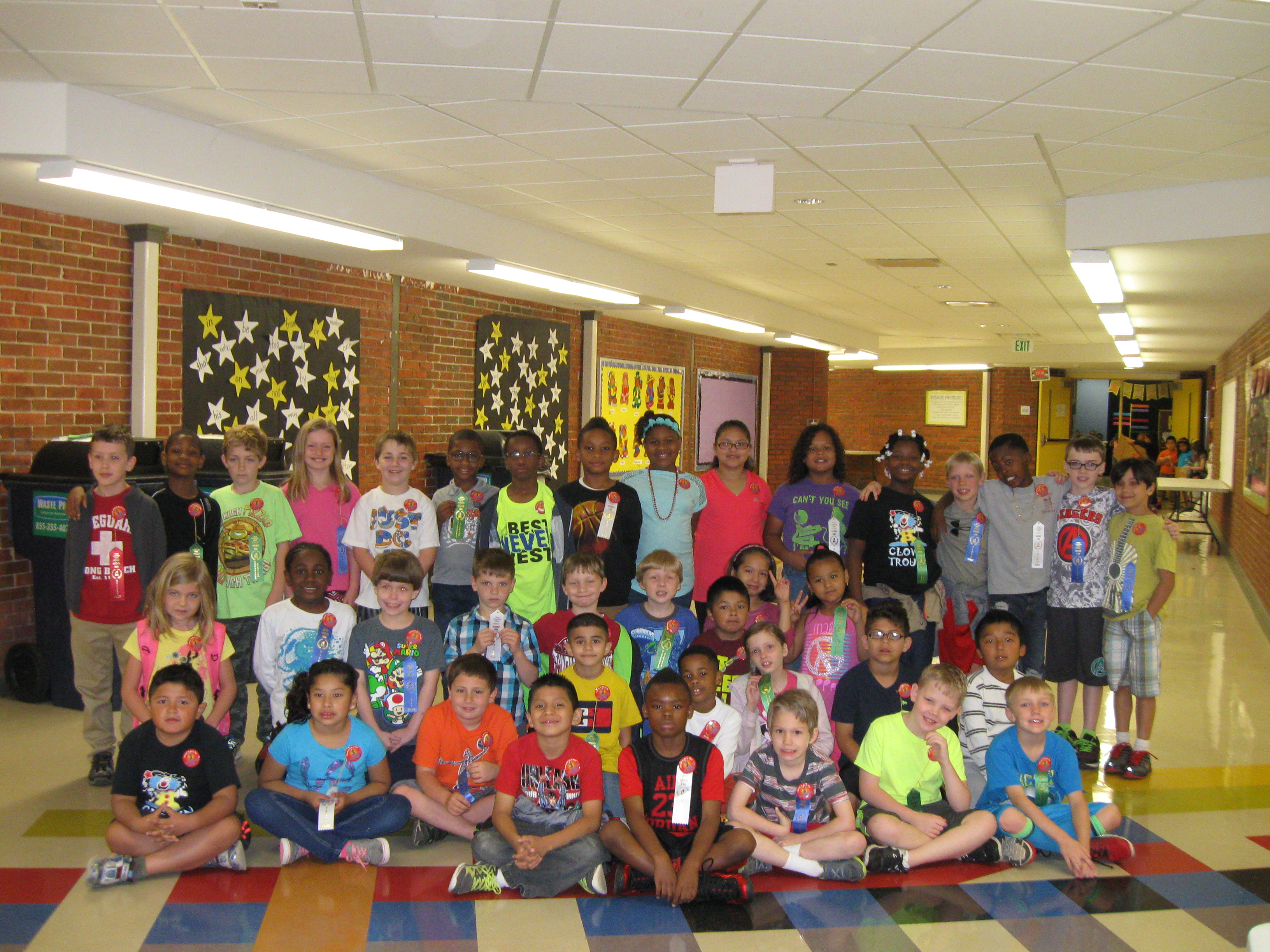 40 second graders participate in Pinson Elementary science ...