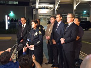 A police officer was shot and killed in San Diego, California on Thursday night.