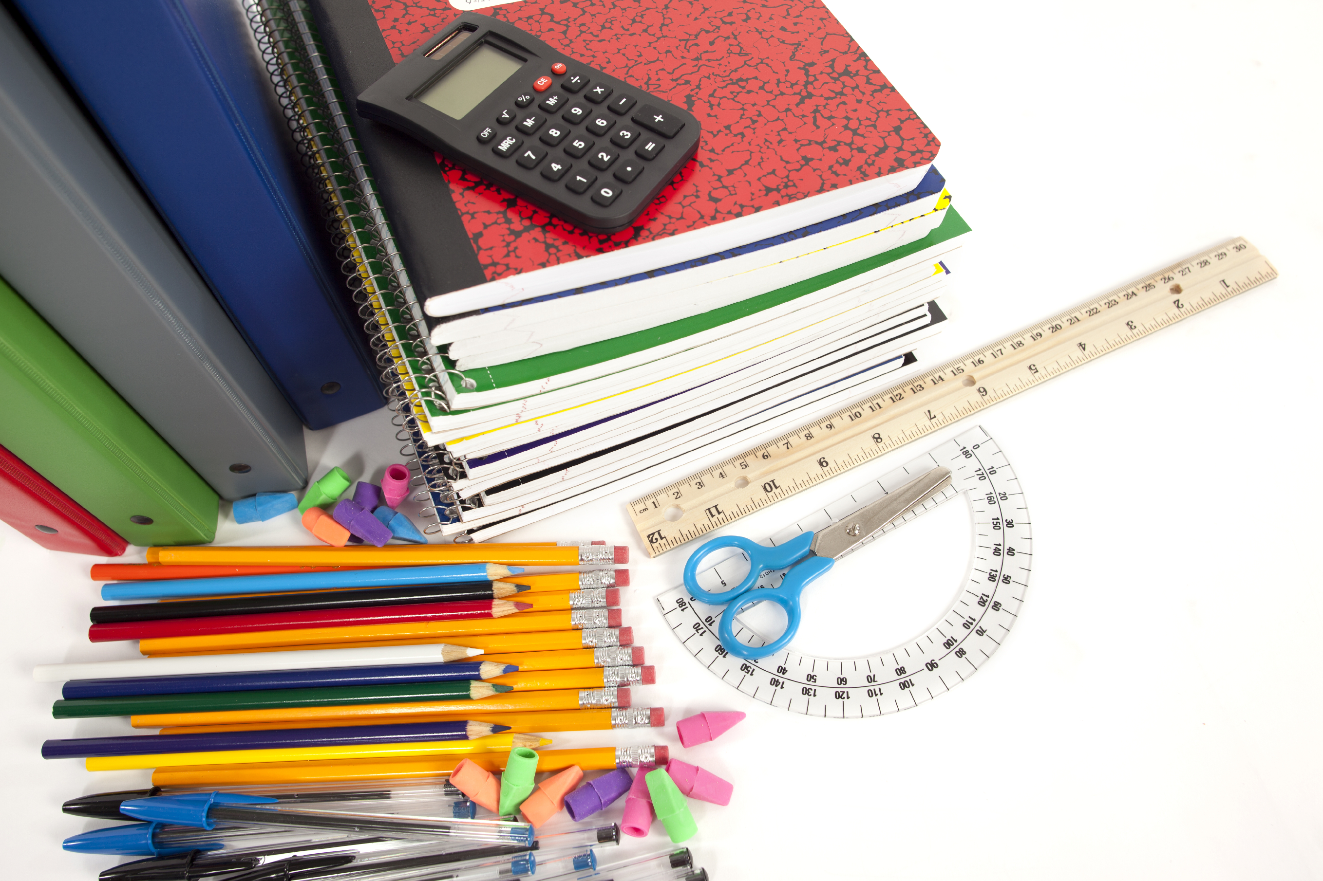One of the best ways to be successful in high school is to always have a set of comprehensive study items on hand. Not only will you be prepared for just about every assignment that comes along, you'll also avoid time-consuming last-minute trips to the store. Extra supplies might be necessary as.