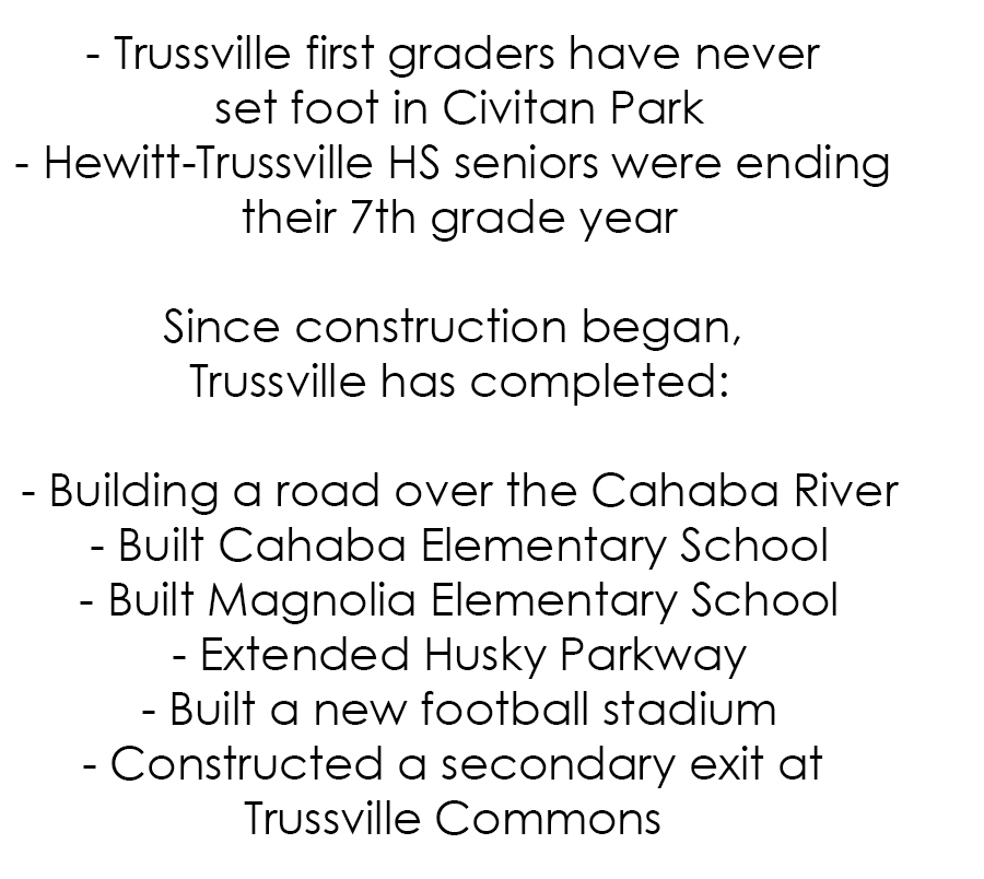 Greenways Project End Is In Sight    Maybe  The Trussville Tribune
