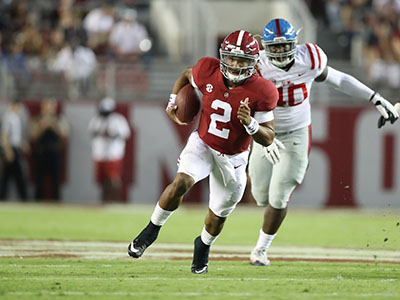 Ole Miss Gets Crushed By No. 1 Alabama, 66-3