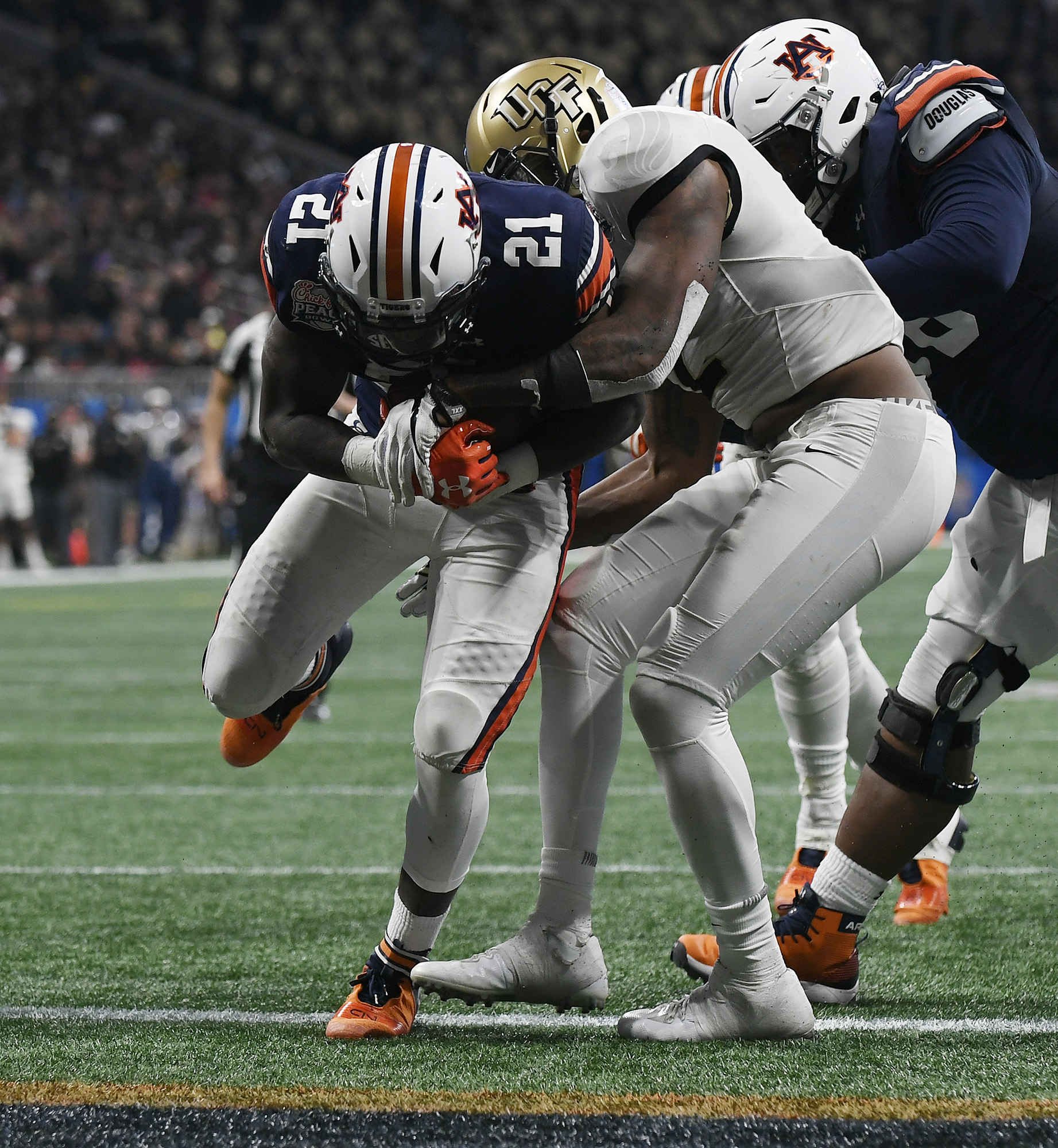Tigers focused on themselves heading into Peach Bowl