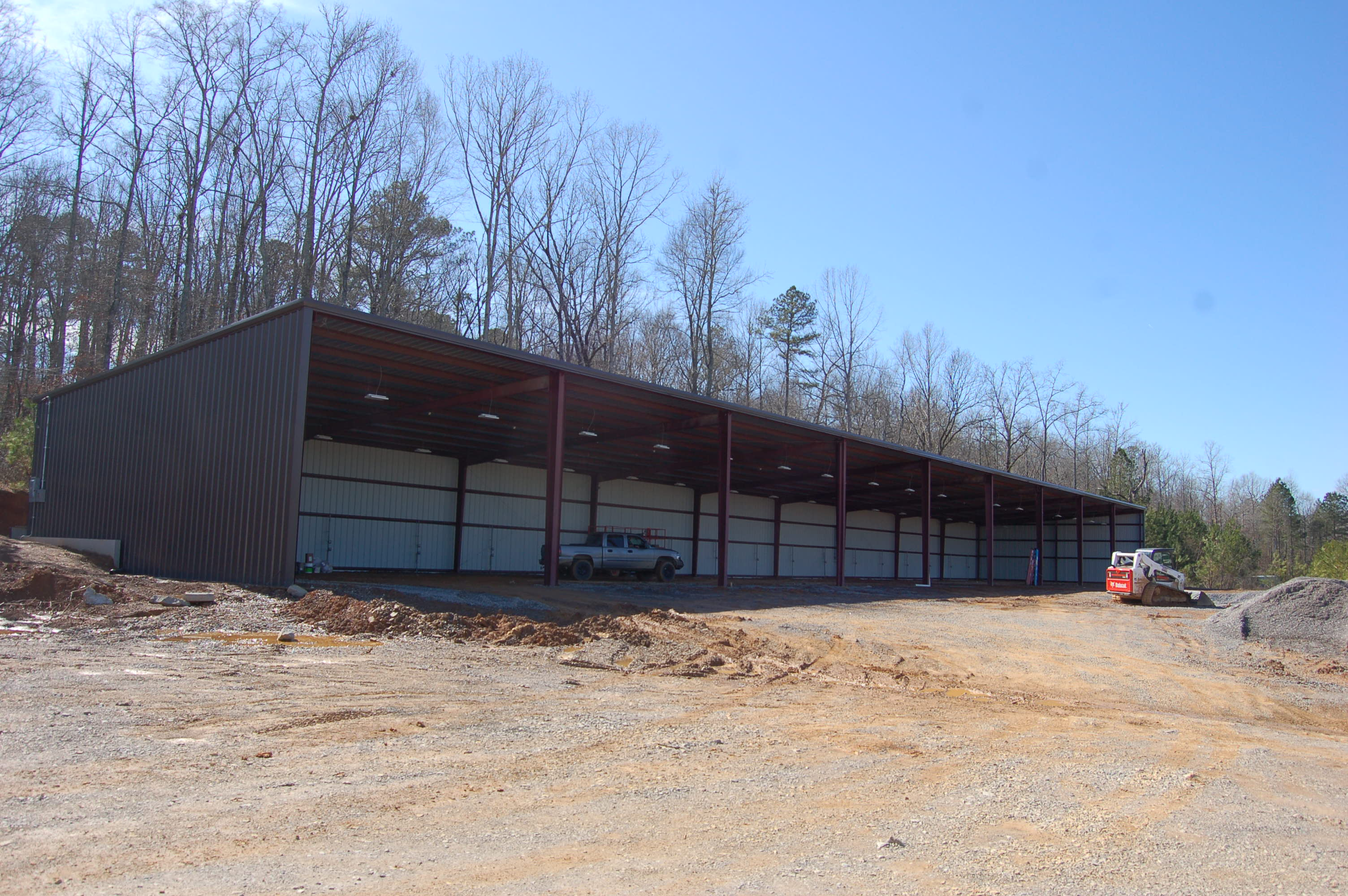 The Future Covered Area Of Trussville RV And Boat Storage. Photo By Nathan  Prewett.