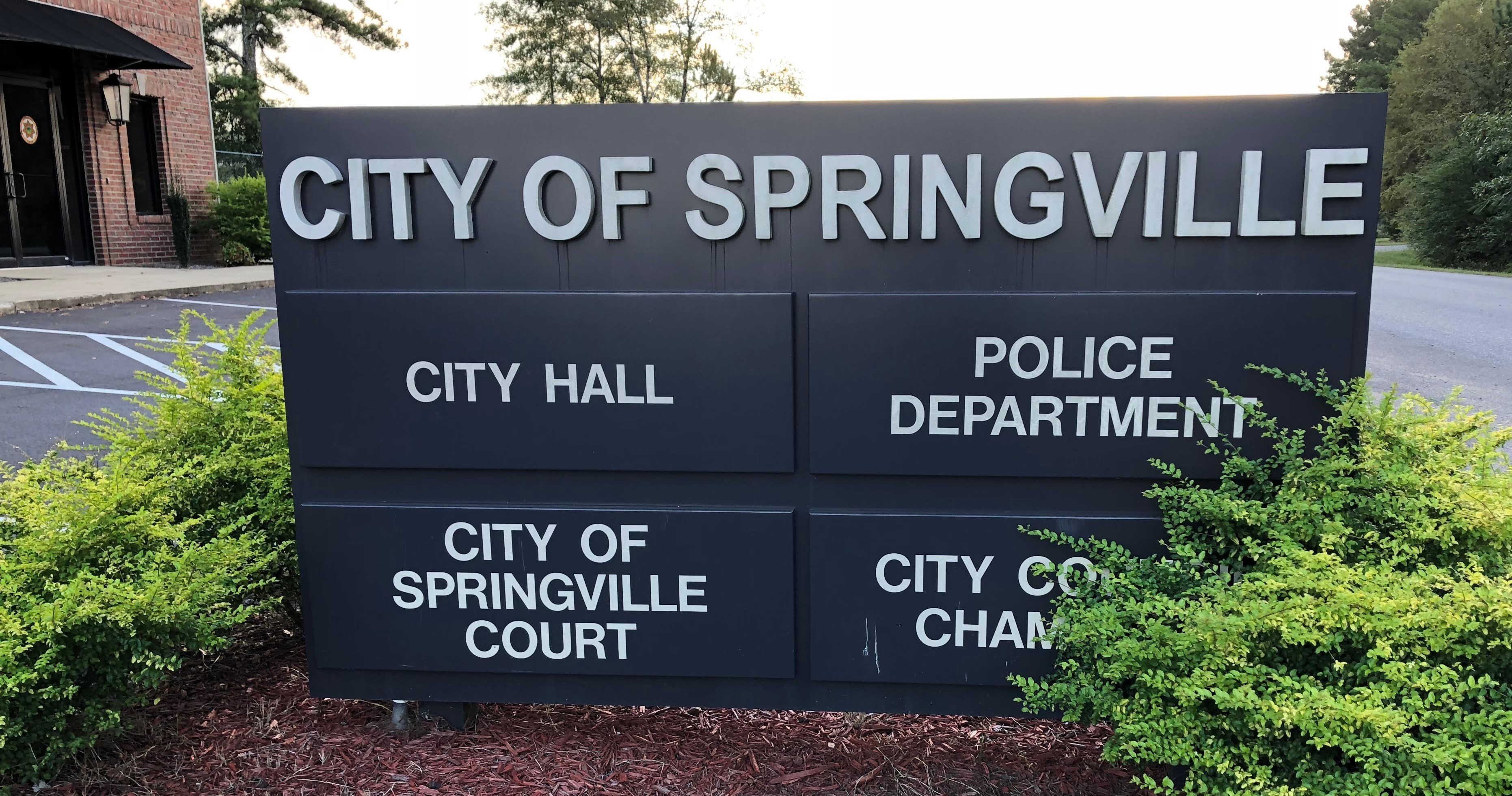 Springville City Hall is located at 160 Walker Dr.