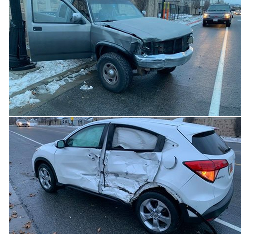 Driver crashed while participating in 'Bird Box Challenge'