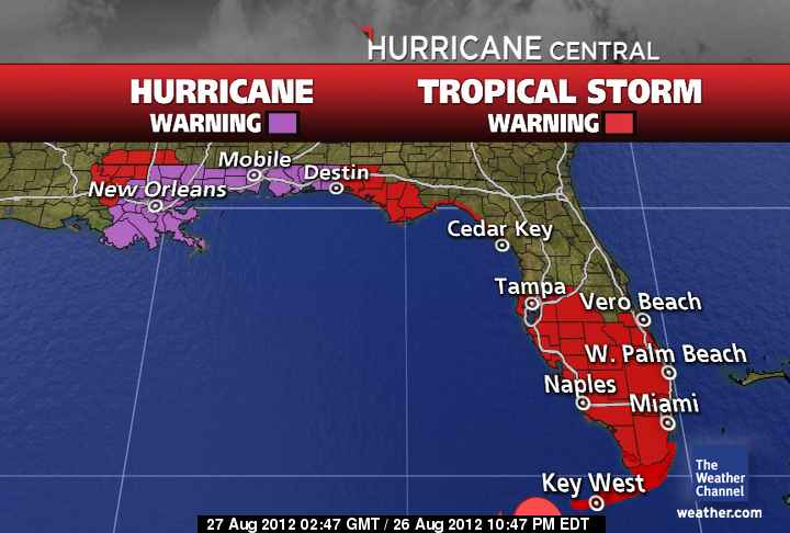 Hurricane Warning issued, state of emergency declared, evacuation ordered for Gulf Shores
