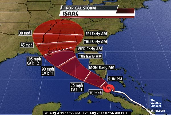 Hurricane Watch issued for Alabama's Gulf Coast