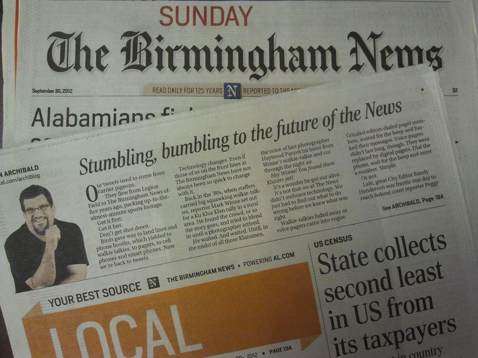 The Birmingham News venture needs to succeed