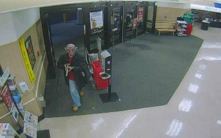 Winn-Dixie suspect wore devil mask