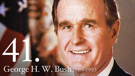 Former President George H.W. Bush hospitalized with bronchitis