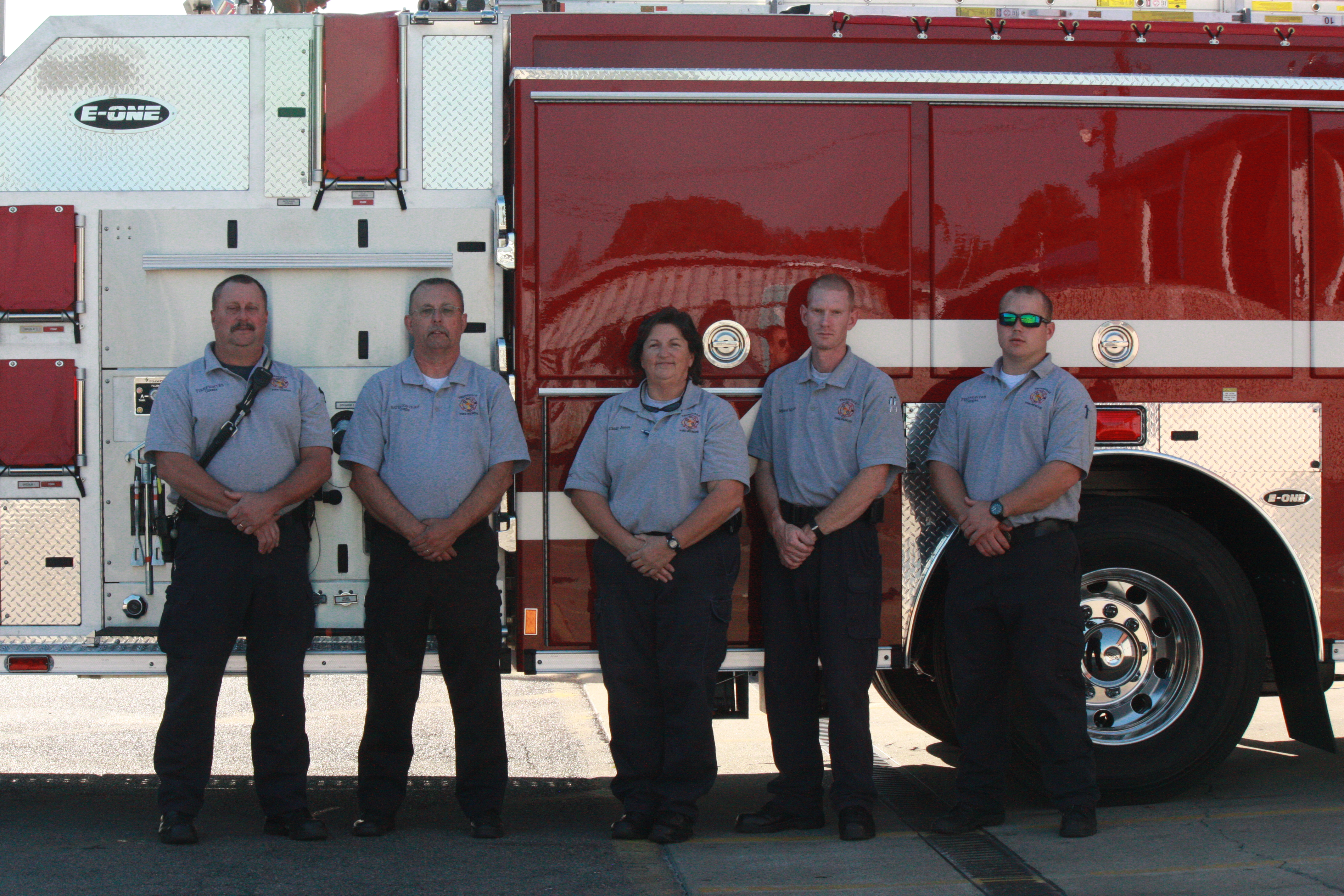 Fire department gets new engine, SUV