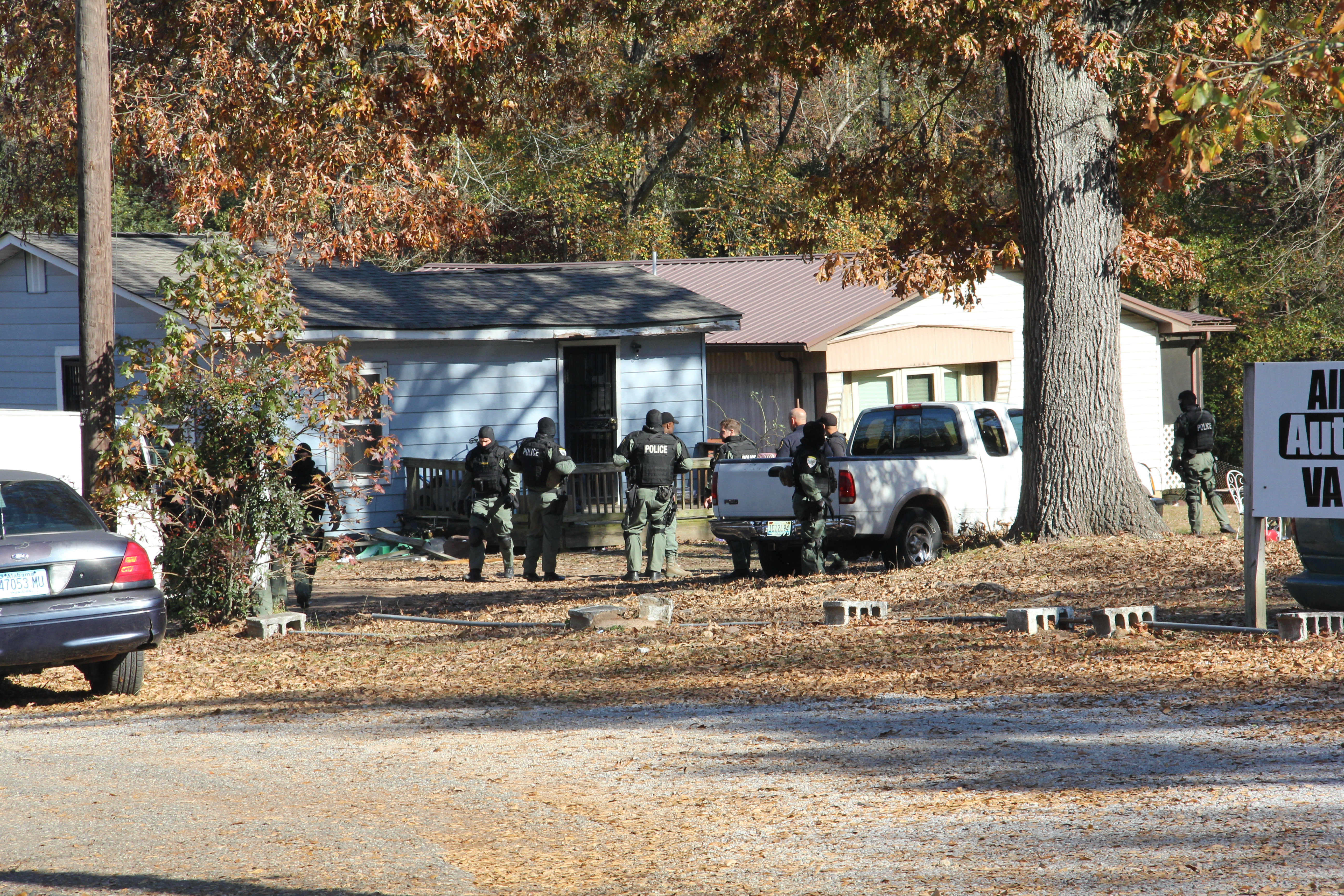 Update: Narcotics team searches home on Valley Road
