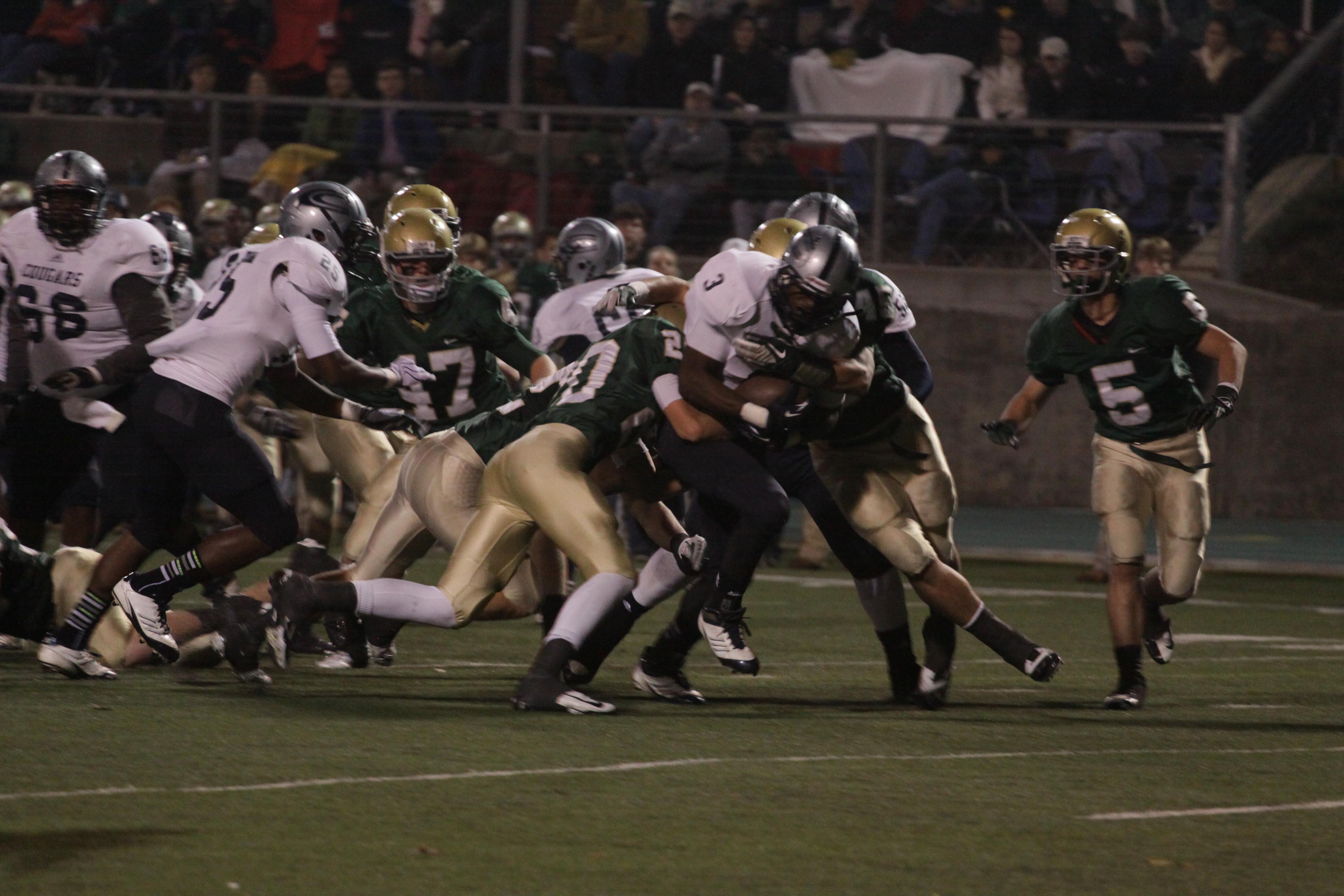 Cougars defeat Spartans 30-9