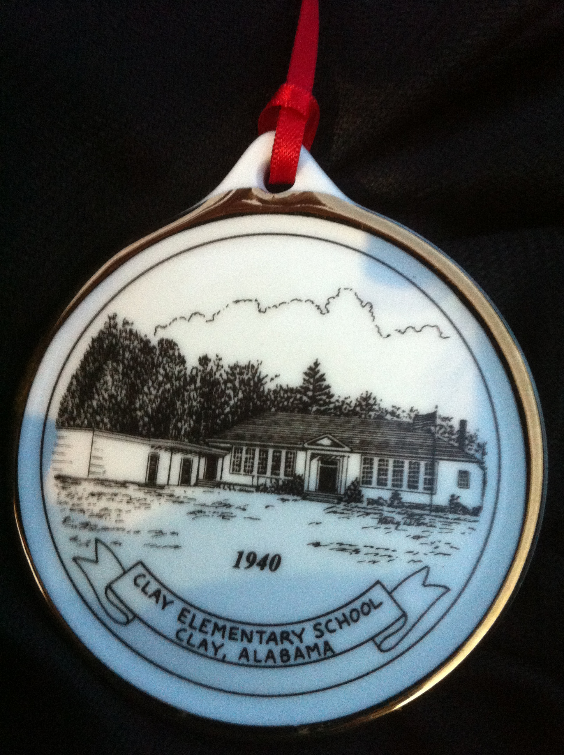 Clay Historical Society selling commemorative ornaments