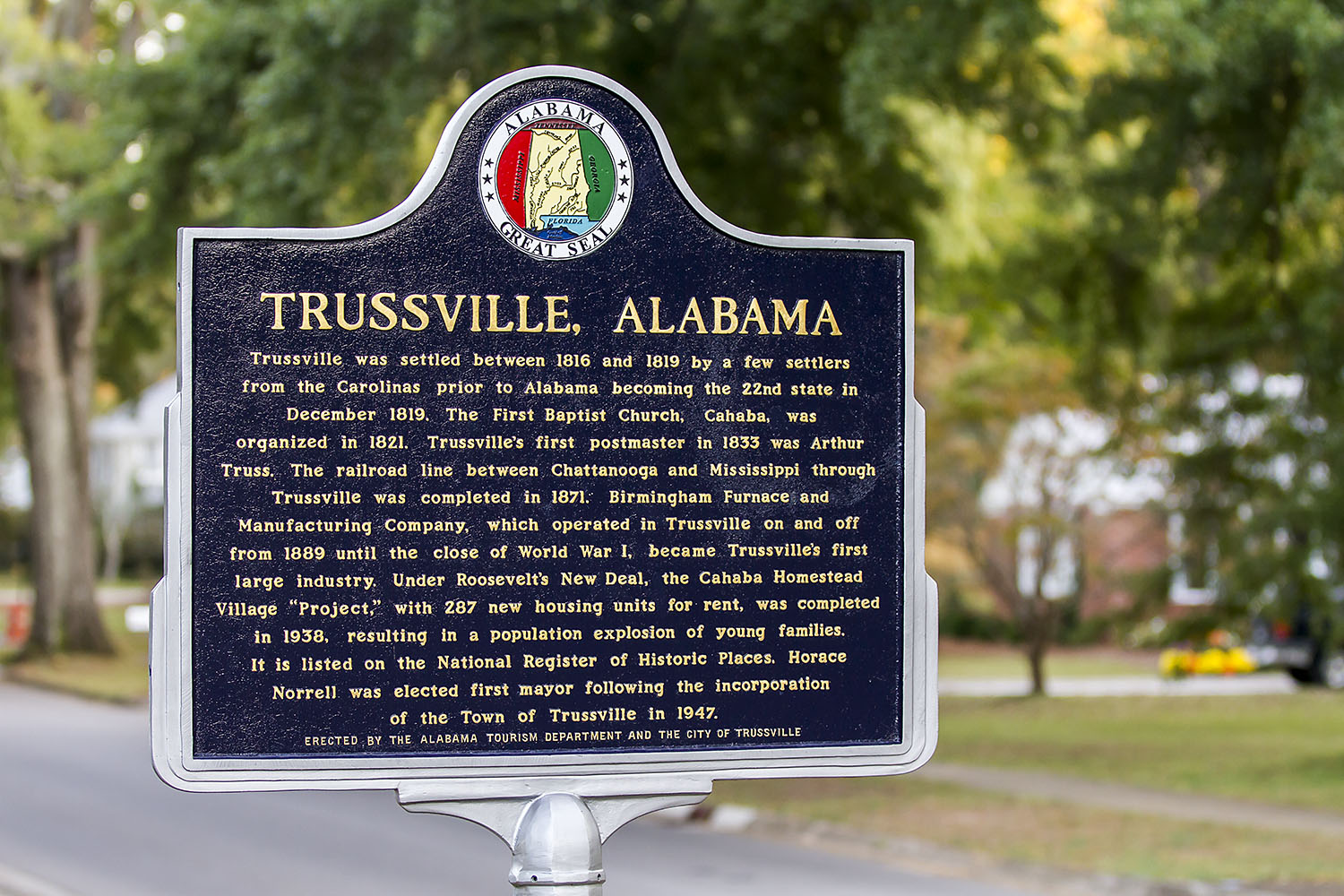 Trussville closes on lighting for sports complex