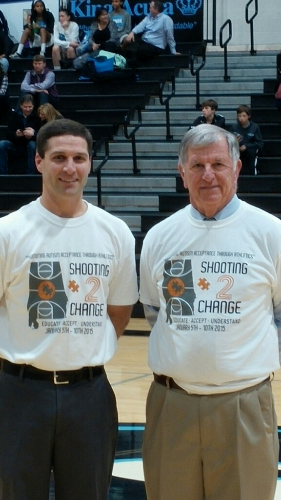 Local basketball coaches help bring awareness to autism
