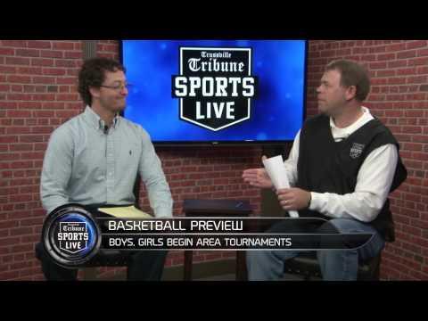 Area basketball tournaments begin Wednesday