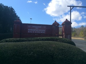 The Birmingham Race Course sits just a few miles from the Trussville city limits. photo by Gary Lloyd