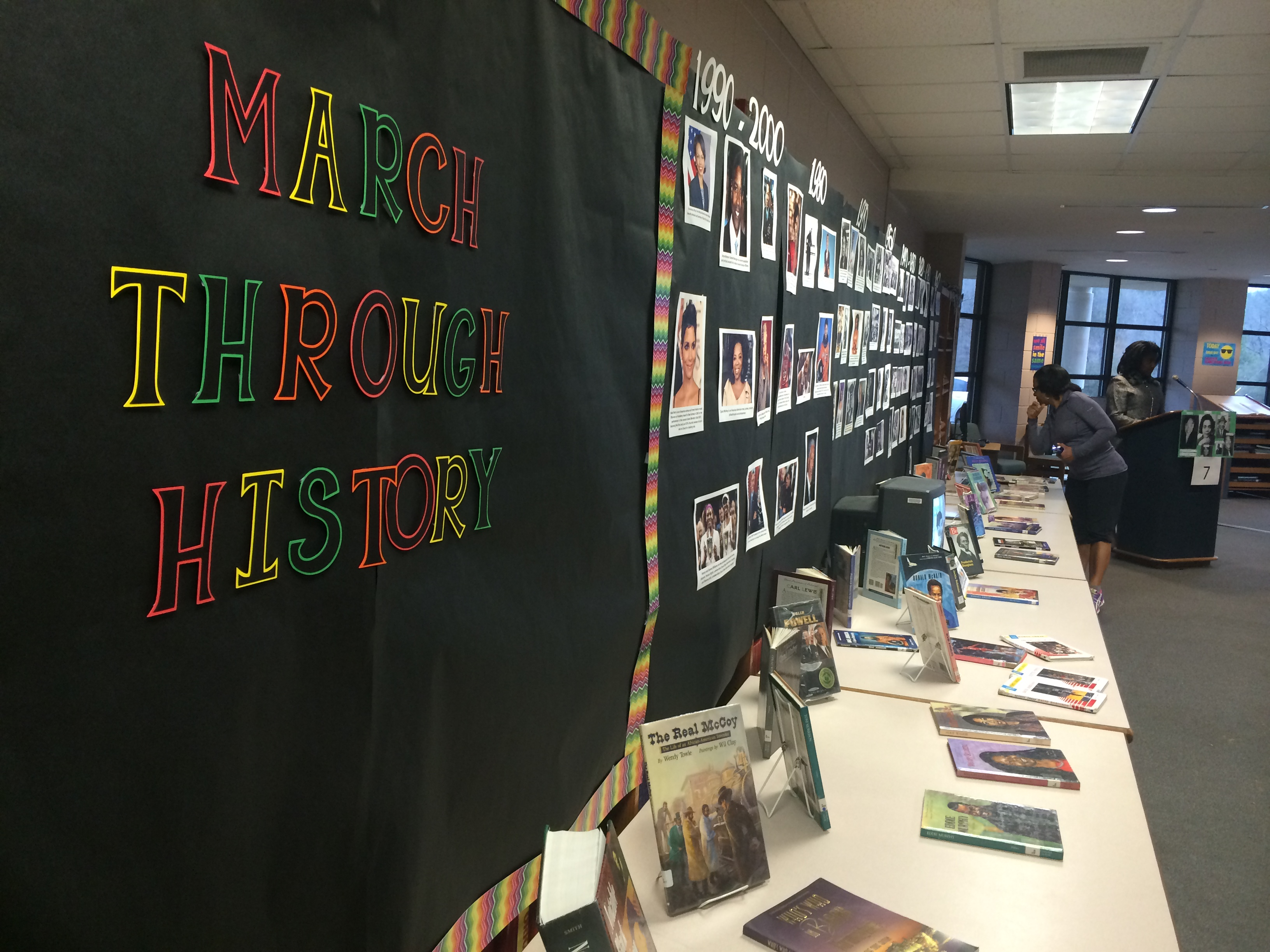 CCMS students bring black history to life