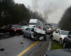 24-car accident reported on I-59 North in Springville