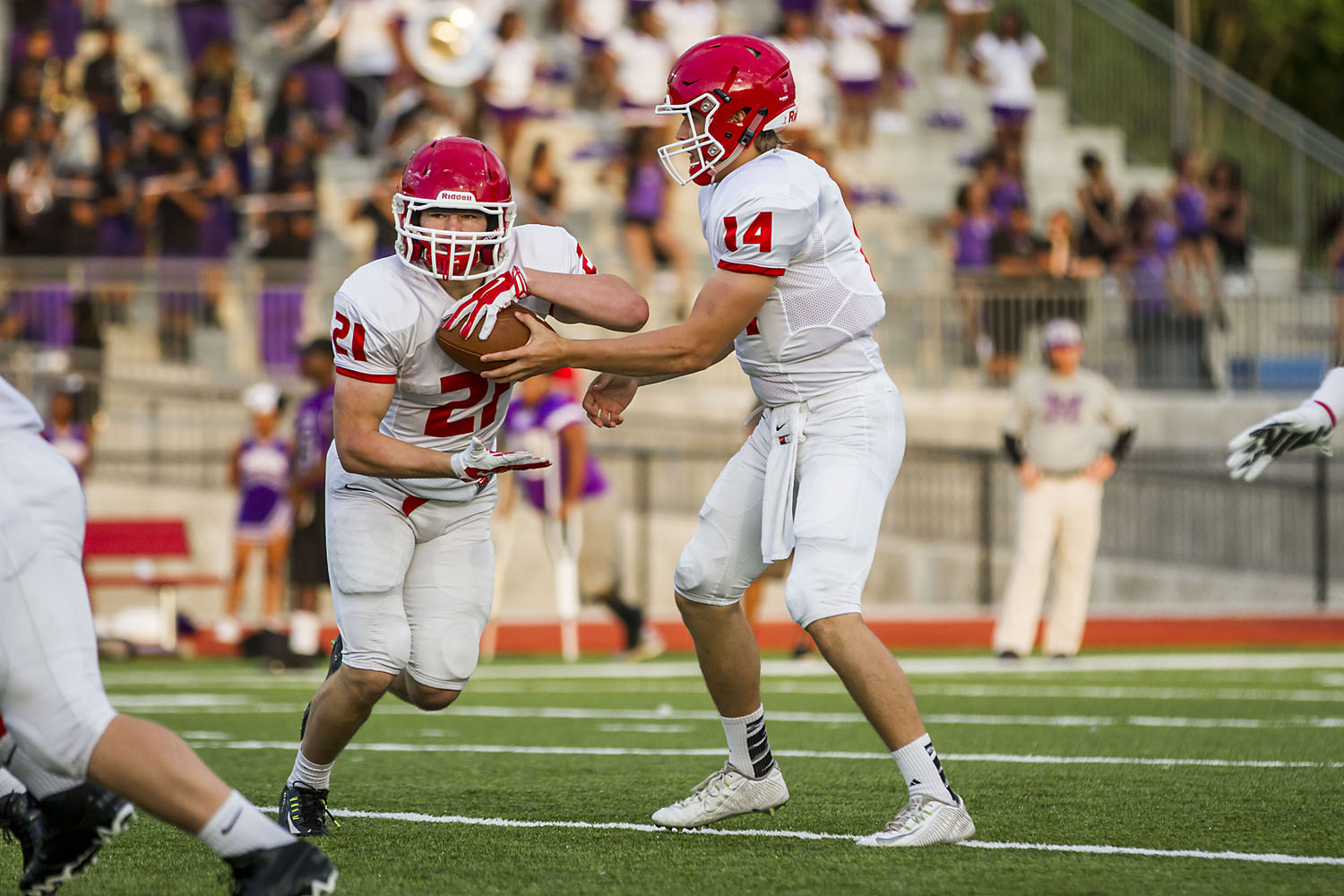 Hewitt-Trussville falls to Minor in rainy spring game