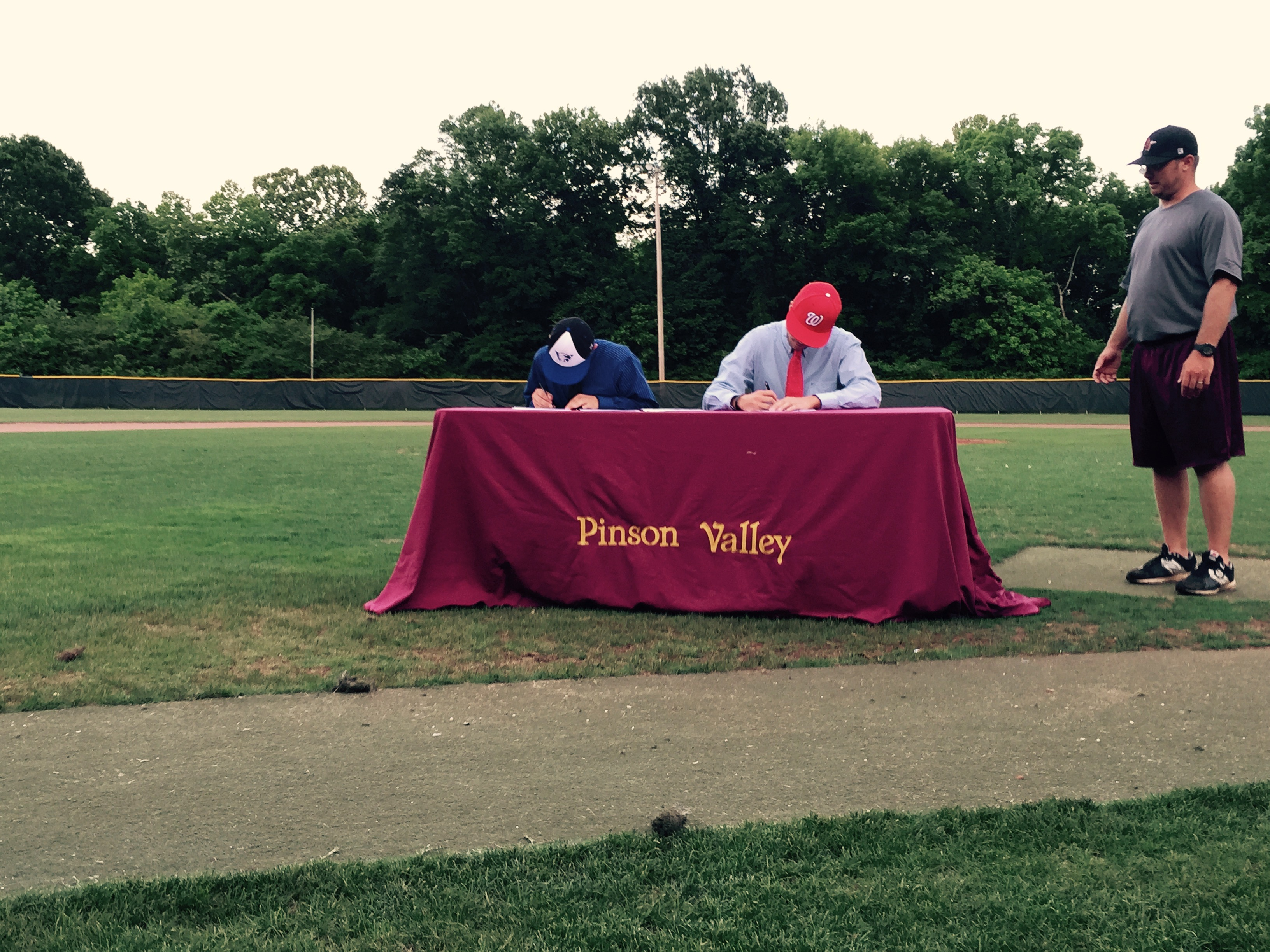 Pinson Valley honors 2 signees