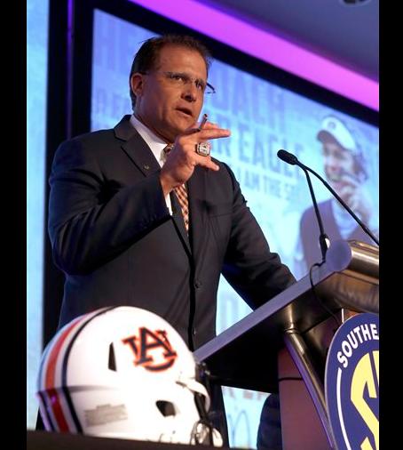 Gus Malzahn agrees to new deal at Auburn