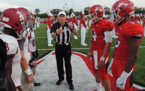 Miscues dender Hewitt-Trussville in season opening loss to Montgomery Bell Academy. photo by Ron Burkett