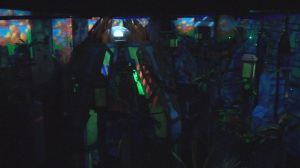 Laser tag is very popular, and Spare Time has the largest arena in the state. Photo by Jason Bradley