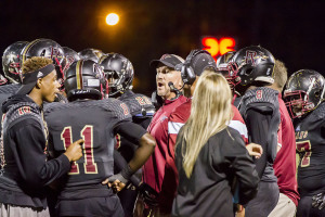 Pinson Valley head coach Matt Glover clinches his sixth consecutive playoff berth with win against Center Point. Photo by Ron Burkett