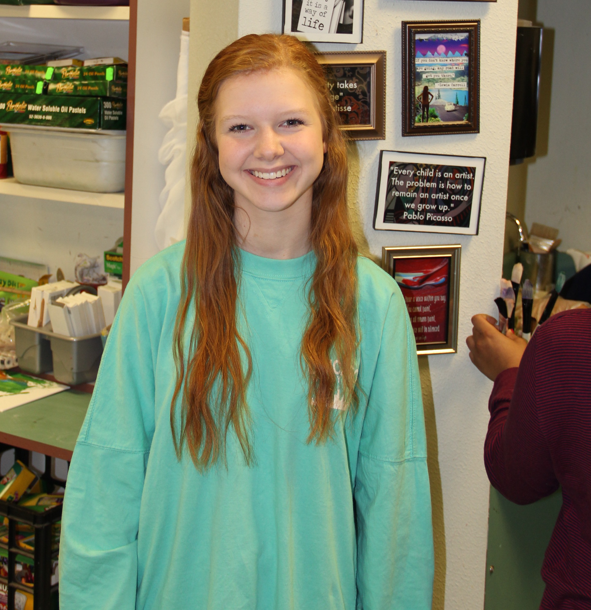 CCHS student earns spot in prestigious art competition