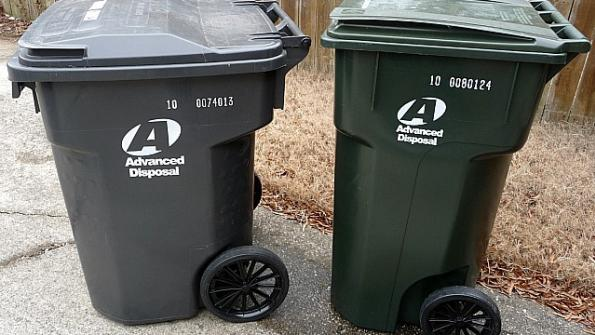 Trussville releases schedule for pickup of Advanced Disposal containers