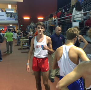 Ben Knox at the State Championship Meet on Saturday. Photo via Hewitt-Trussville athletics