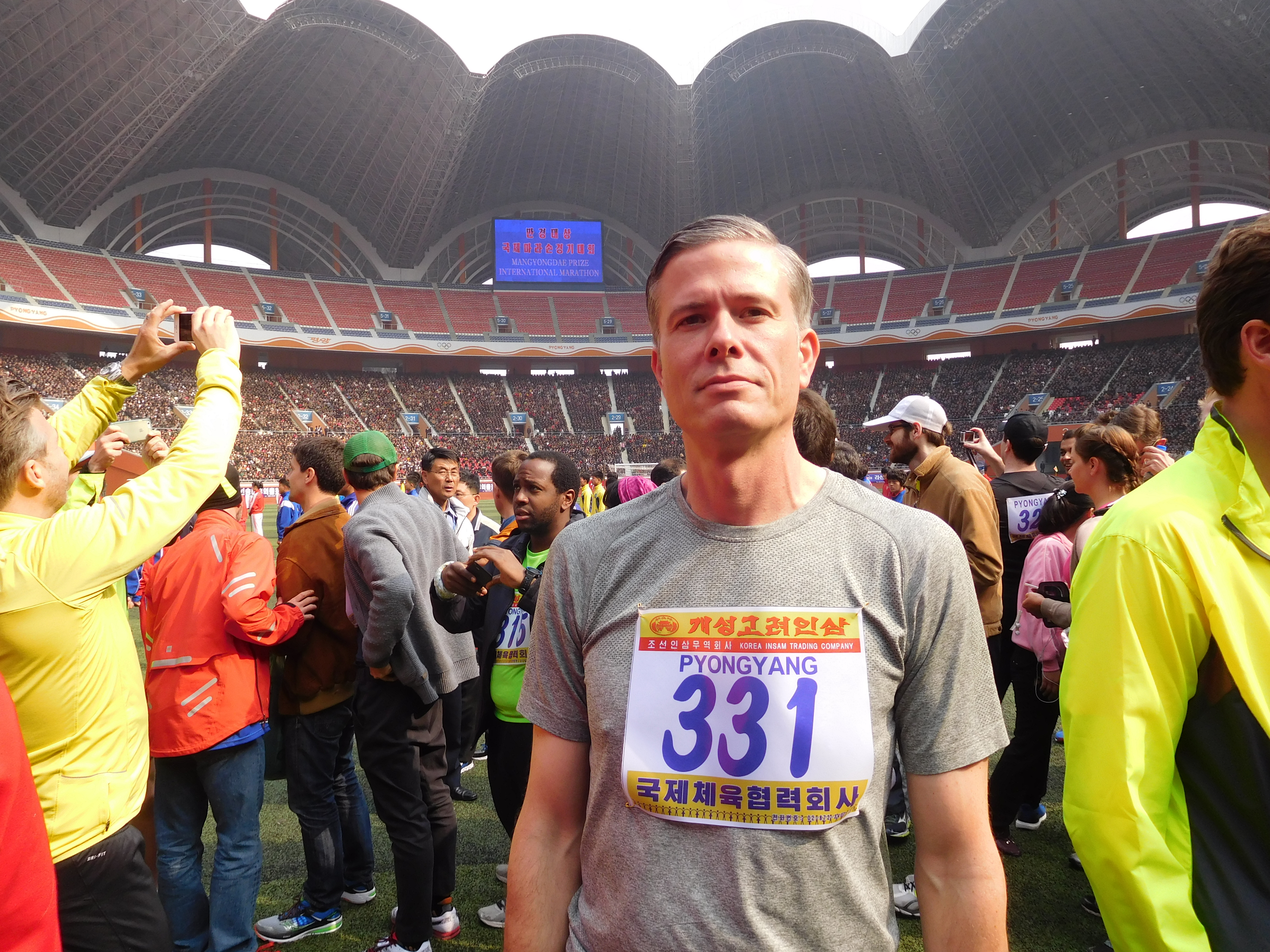 Trussville resident travels to North Korea to run half marathon