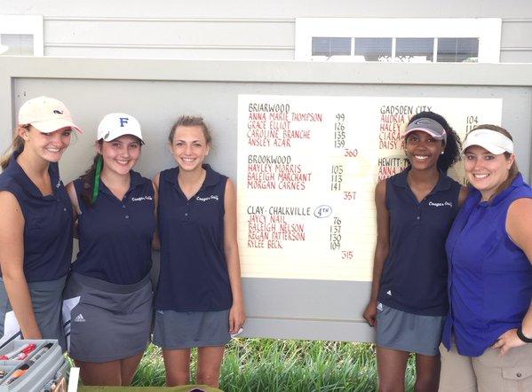 Clay-Chalkville girls golf team reaches sub-state again