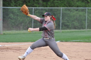 Bailey Murphy tossed a complete game in Hewitt's win on Thursday. Photo by Kyle Parmley