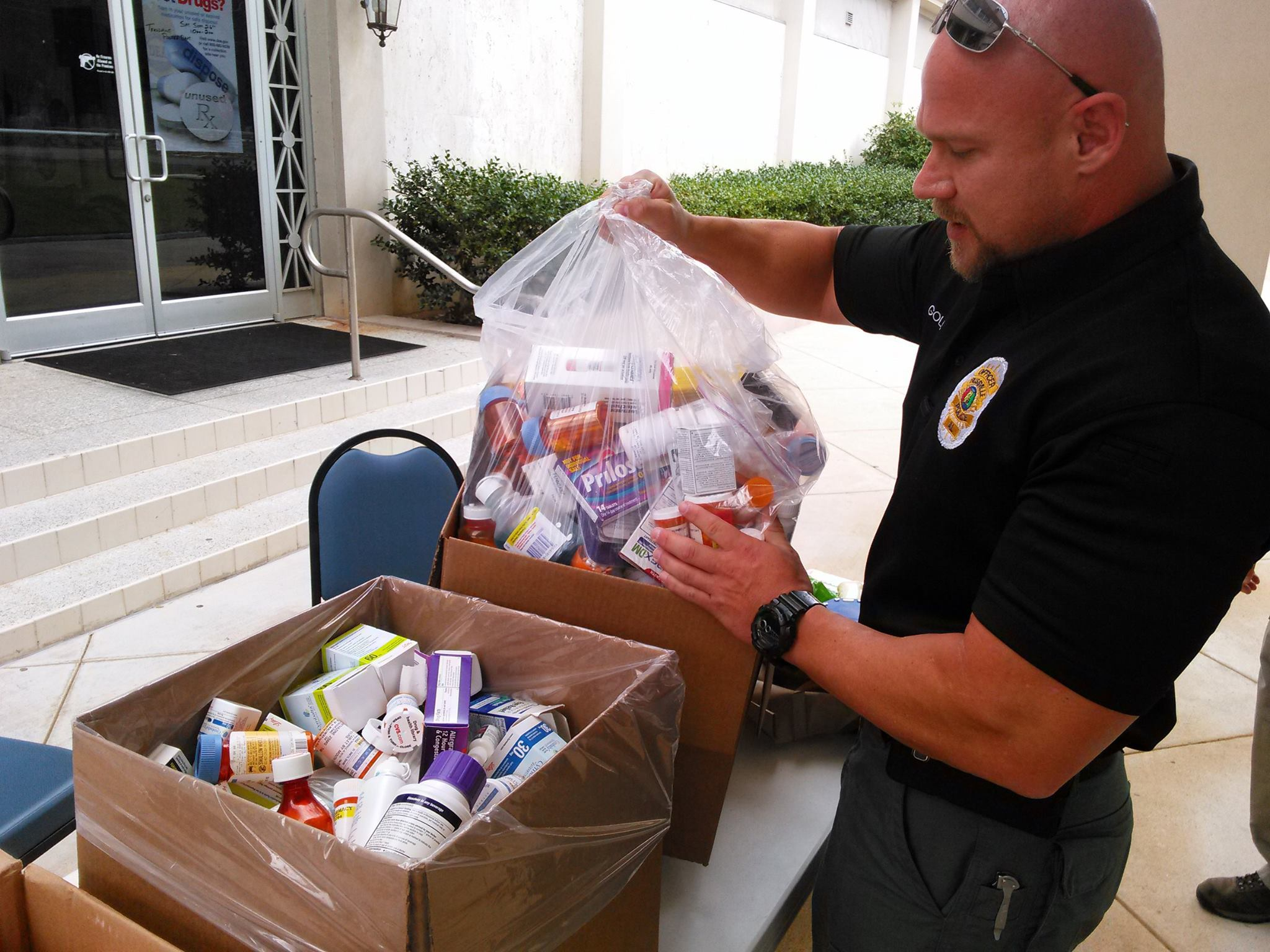 Trussville PD participating in National Prescription Drug Take Back Day