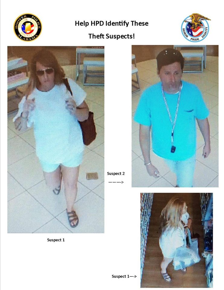 Two wanted for shoplifting merchandise from Ulta