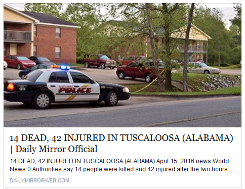 Article circulating out of Tuscaloosa said to be hoax