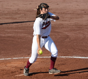 Pinson Valley's Lauren Keplinger pitched six strong innings on Friday. Photo by Kyle Parmley
