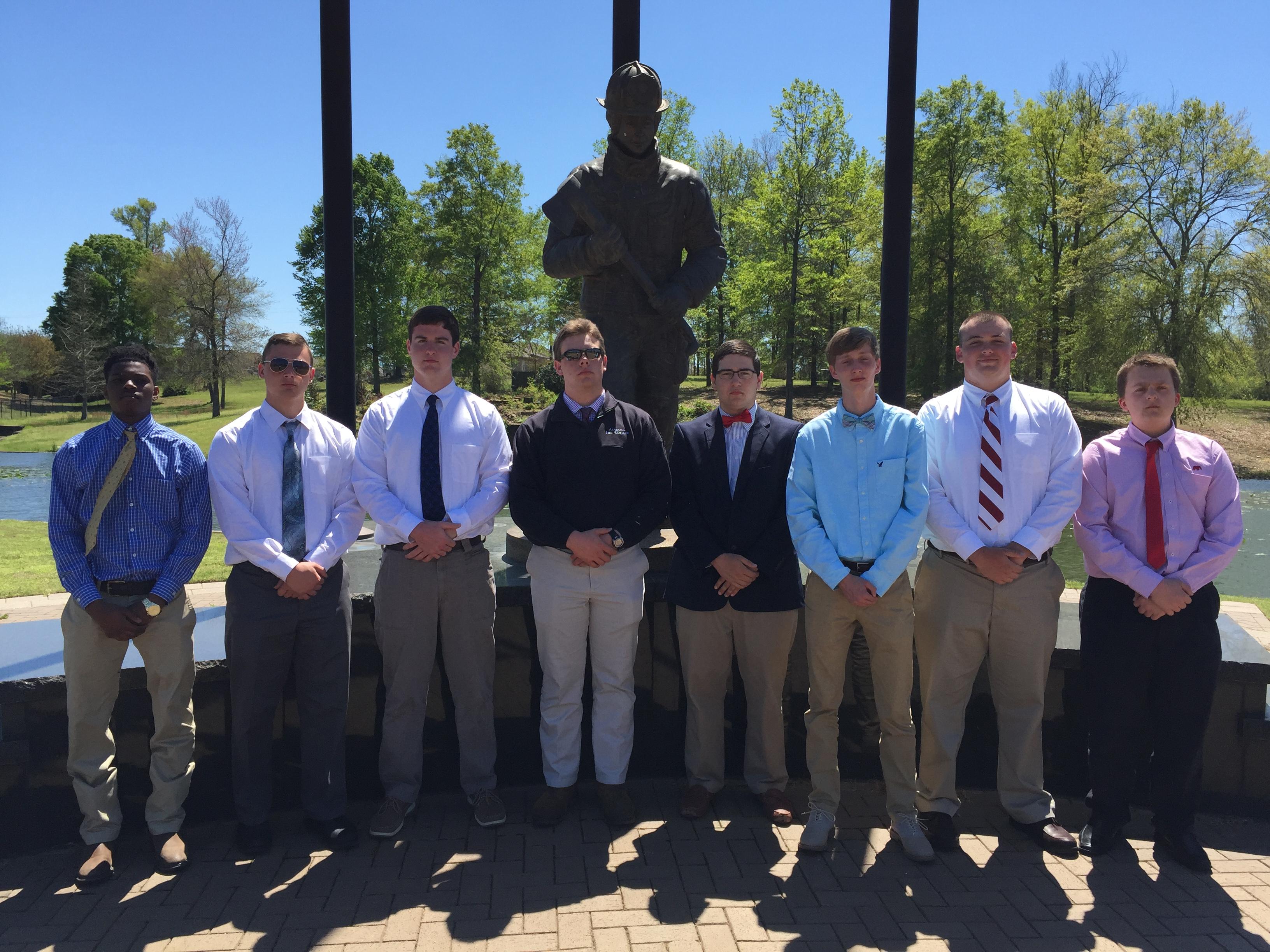 Hewitt-Trussville High School students receive volunteer firefighter certification