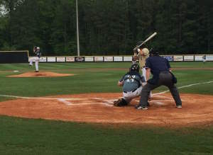 Dayne Edwards was sensational on the mound for Clay-Chalkville on Monday night. Photo by Kyle Parmley.