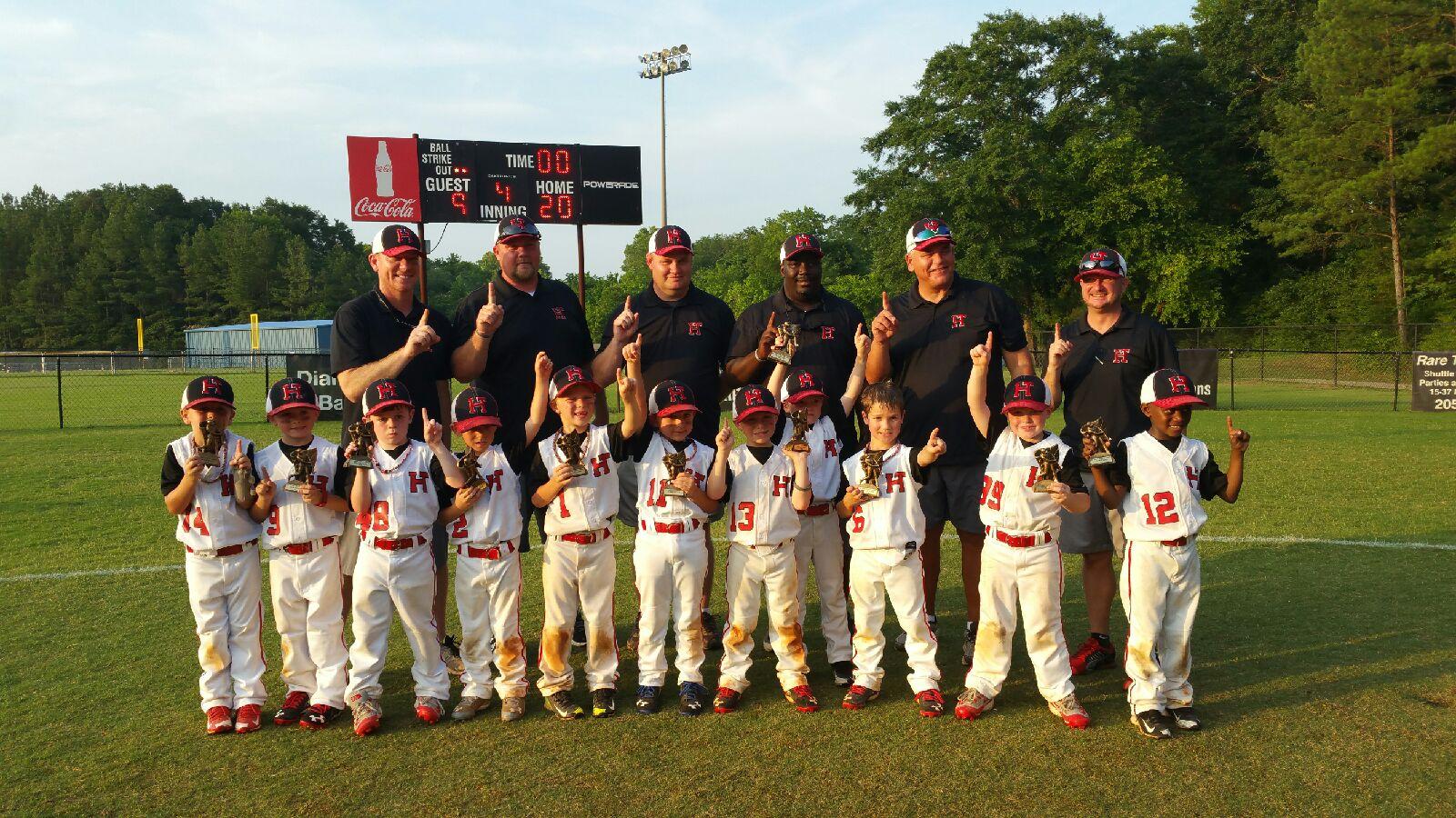 Trussville U6 baseball teams sweep Birmingham Metro Tournament