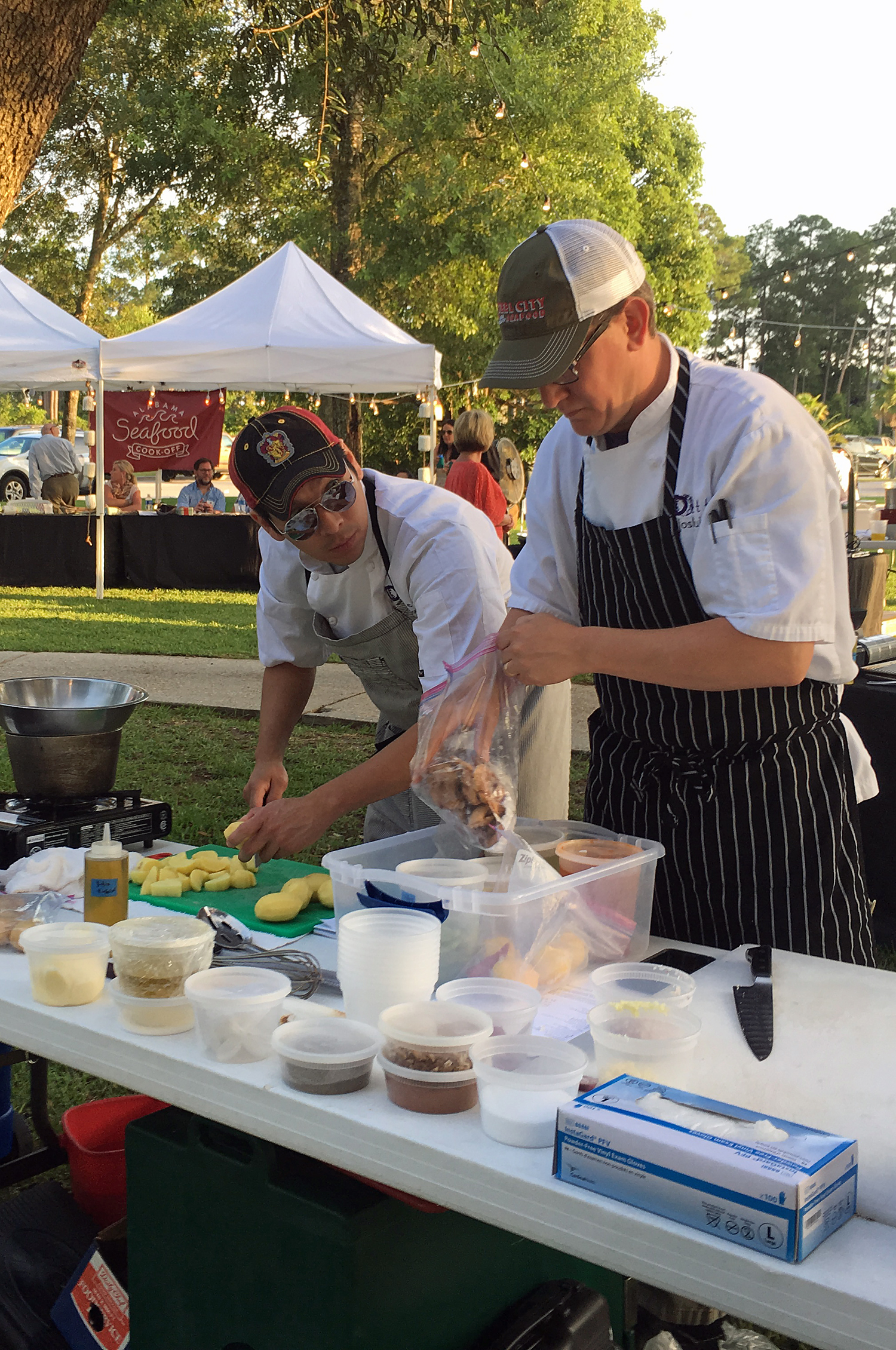 Top chefs compete at Alabama Seafood Cook-Off