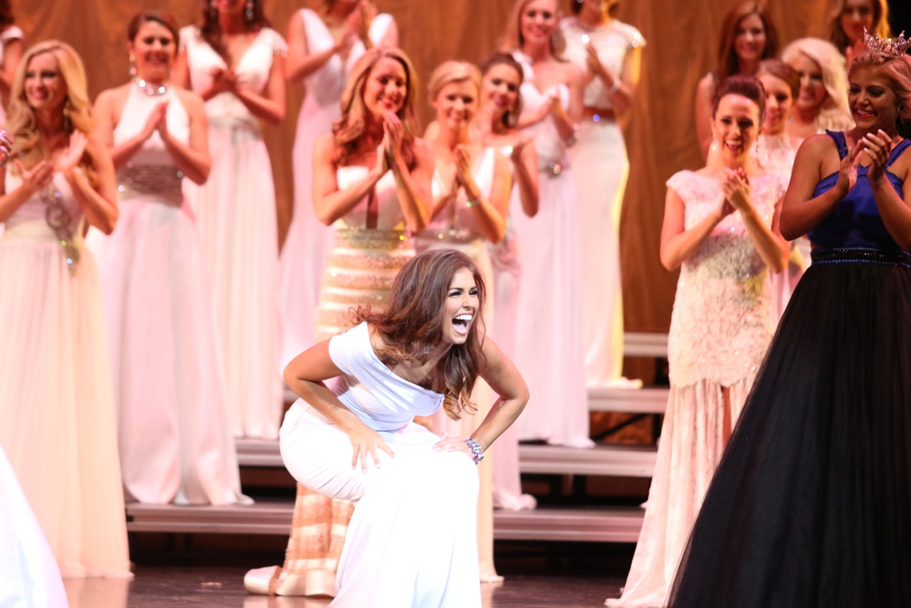 Miss Trussville, Cassidy Jacks, takes first place in Miss Alabama talent competition