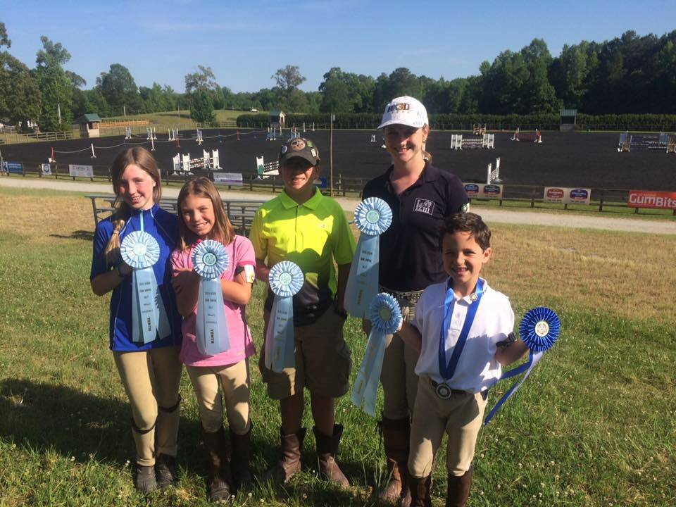 Trussville native acquires multiple awards at Show Jumping Rally