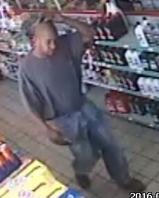 Man wanted for using forged check on Grants Mill Road