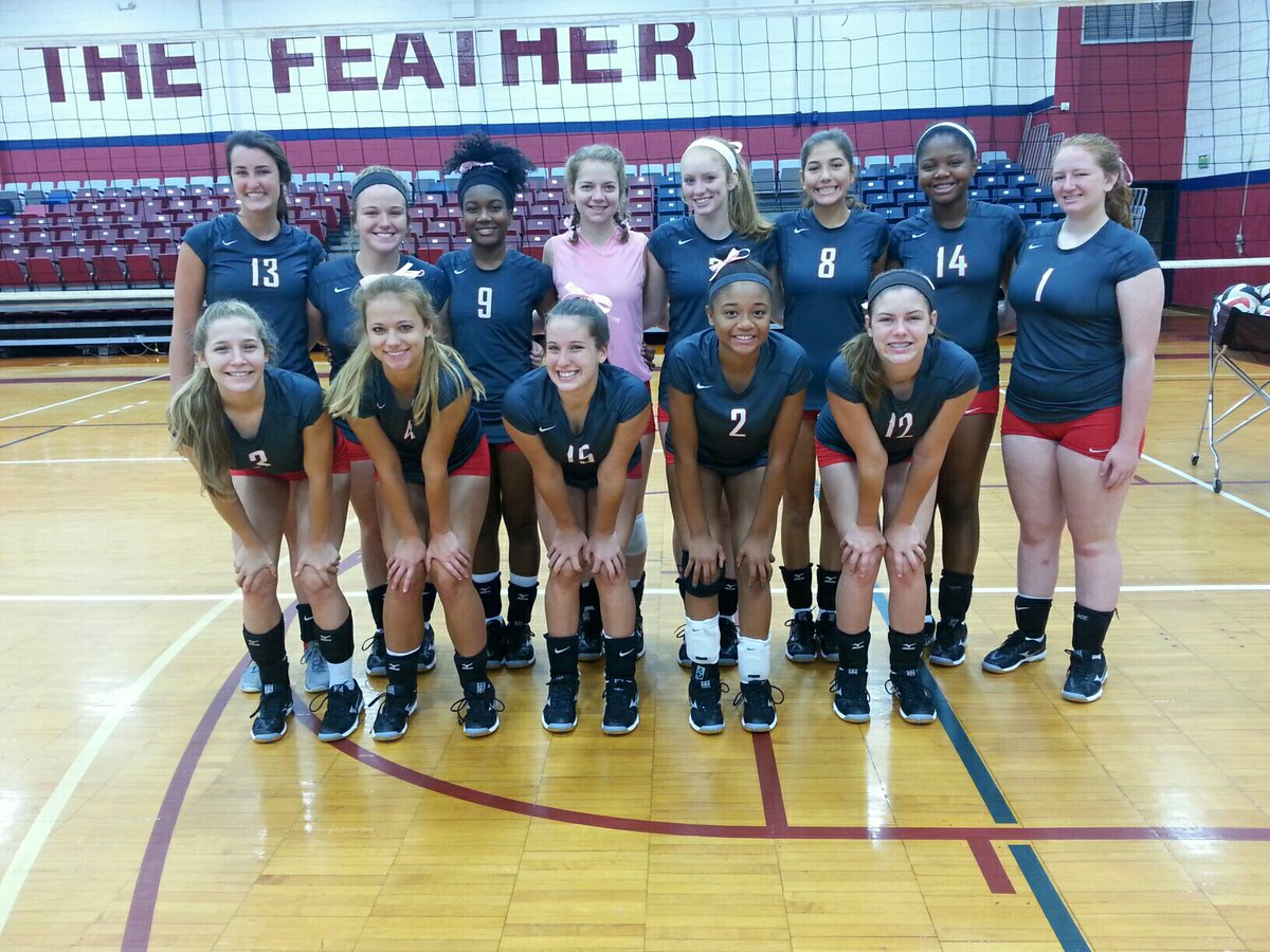 Lady Huskies' volleyball team hits court for practice