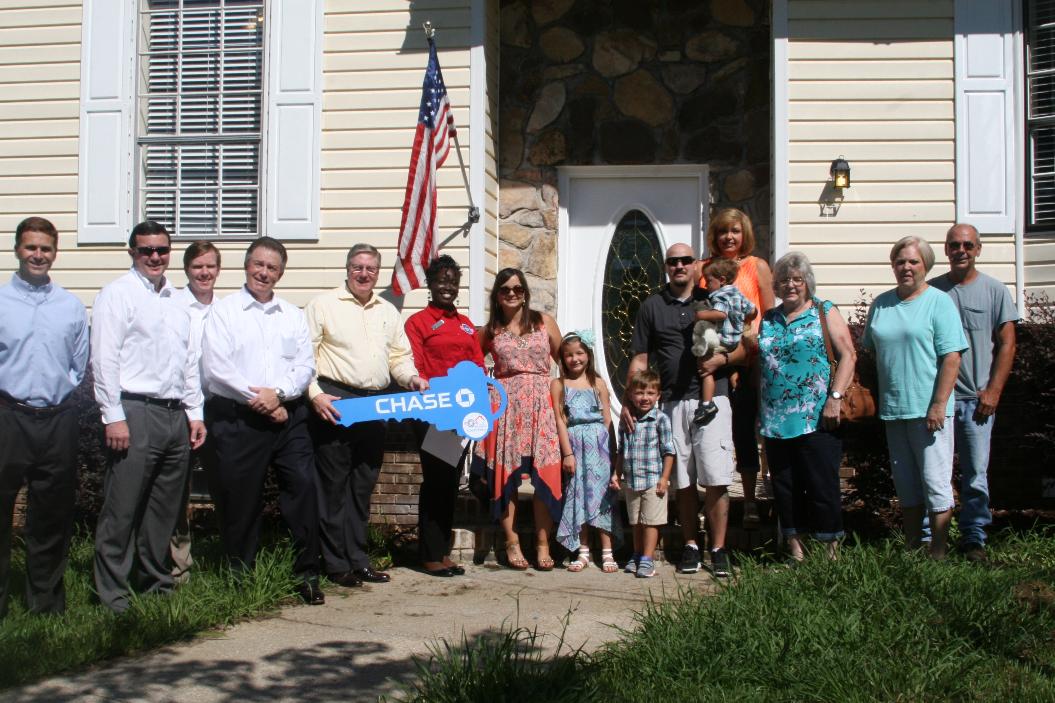 Military family awarded mortgage-free home in Trussville